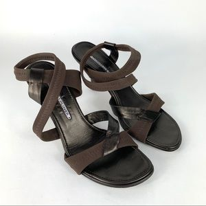 Donald J Pliner Womens Slide Sandals Heels 7 M